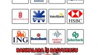 Bankalara İş Başvurusu