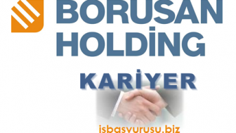 Borusan Holding İş Başvurusu