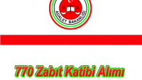 Adalet Bakanlığı 770 Zabıt Katibi Alımı