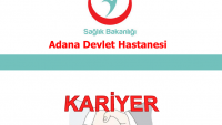 Adana Devlet Hastanesi İş Başvurusu