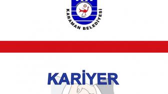 Karaman Belediyesi Personel Alımı