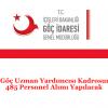 İl Göç Uzman Yardımcısı Kadrosuna 485 Personel Alımı Yapılacak