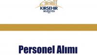 Kırşehir Belediyesi Personel Alımı