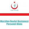 Merzifon Devlet Hastanesi Personel Alımı