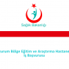 Erzurum Bölge Eğitim ve Araştırma Hastanesi İş Başvurusu