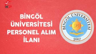 Bingöl Üniversitesi İş Başvurusu