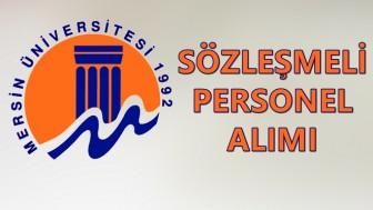 Mersin Üniversitesi İş Başvurusu