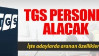 TGS İş Başvurusu 2020