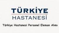 Türkiye Hastanesi İş Başvurusu
