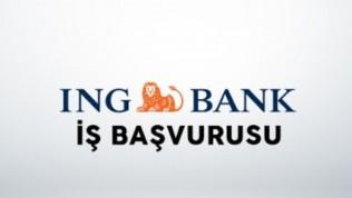 İng Bank İş Başvurusu