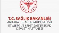 Etimesgut Devlet Hastanesi İş Başvurusu