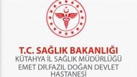 Emet Devlet Hastanesi İş Başvurusu