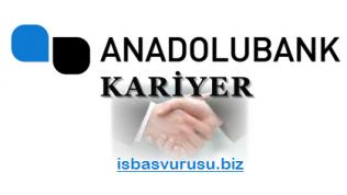 Anadolubank İş Başvurusu
