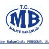 Maliye Bakanlığı Personel Alımı