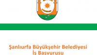 Şanlıurfa Büyükşehir Belediyesi İş Başvurusu