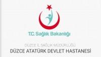 Düzce Atatürk Devlet Hastanesi İş Başvurusu