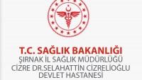 Cizre Devlet Hastanesi İş Başvurusu